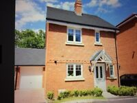 Beautiful 3 bed detached house, Ensuite bedroom 1, big garden & garage in family friendly close