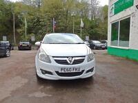 VAUXHALL CORSA 1.2 Limited Edition +++FDSH+++IN WHITE+++ (white) 2010