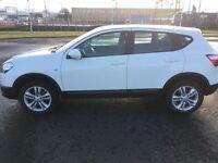 Nissan Quashqai - White - low mileage
