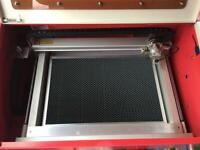 Work from home - Laser cutter