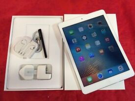 Apple iPad Air 16GB, White, WiFi + Cellular, Unlocked, +WARRANTY, NO OFFERS