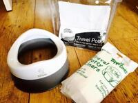 Tippitoes Travel Potty with additional liners