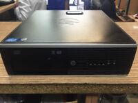 HP Compaq 8200 Elite SFF PC Core i5-2400 3.1GHz 4GB RAM 320GB HDD Win 7 PC