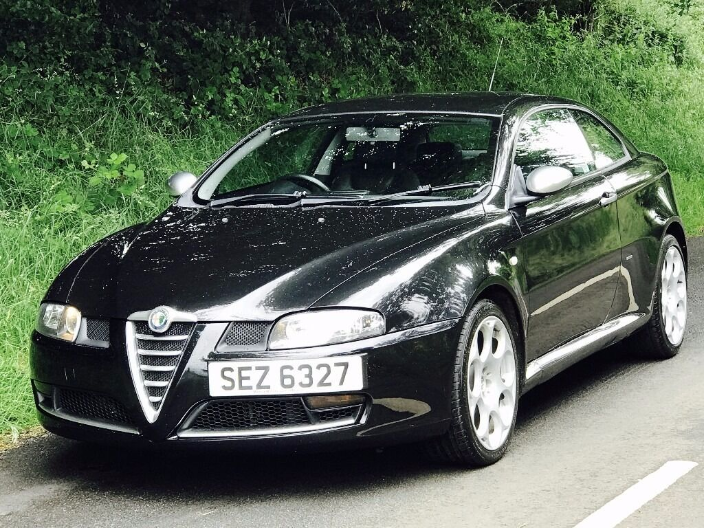 Mint Alfa Romeo GT 19 JTDM Blackline Special Editiontrade In Considered Credit Cards