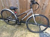 "Ladies 17"" Dawes discovery hybrid bike bicycle. Inc FREE lights & delivery"