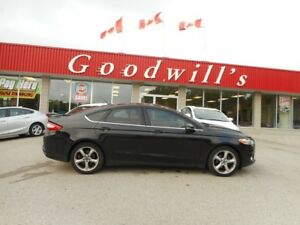 2014 Ford Fusion SE! 2.0L ECOBOOST! NAVI! BACKUP CAM! BLUETOOTH!