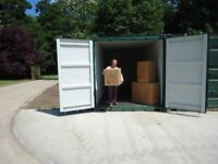 20 foot storage containers £80.00 per month plus vat (£96.00)