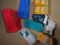 Brand new- Selection, bundle - WELDING LEATHER GLOVES