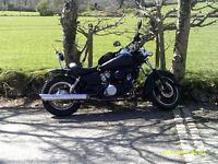 custom vt125 honda shadow 125cc