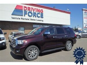 2014 Toyota Sequoia Limited 4x4 SUV 8 Passenger - 20,611 KMs