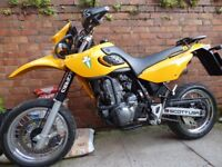 MZ BAGHIRA 660cc YAMAHA ENGINE STREETMOTO SUPERMOTO SUPERMOTARD EXCELLENT VERY LOW MILEAGE