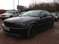 2003 BMW 3 SERIES MSPORT COUPE 148K, PRIVATE PLATE! 1 YEAR MOT £1100