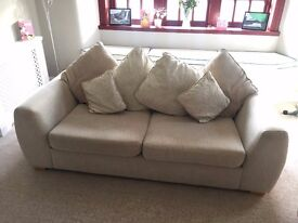 ABSOLUTE BARGAIN – 2 x 3-seater sofas – EXCELLENT CONDITION