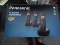 Panasonic KX-TGB trio as new £30