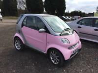 Smart Fourtwo 0.6L Petrol 2006 Passion Pink *Auto*