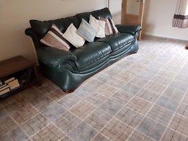 Leather 3 Piece Suite for Sale