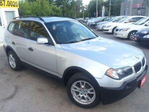 2004 BMW X3 Low KM's / AWD / Loaded / Alloys / Mint!