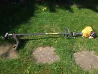 Hi this is my straight petrol Strimmer , it has not had much use and its in fall working