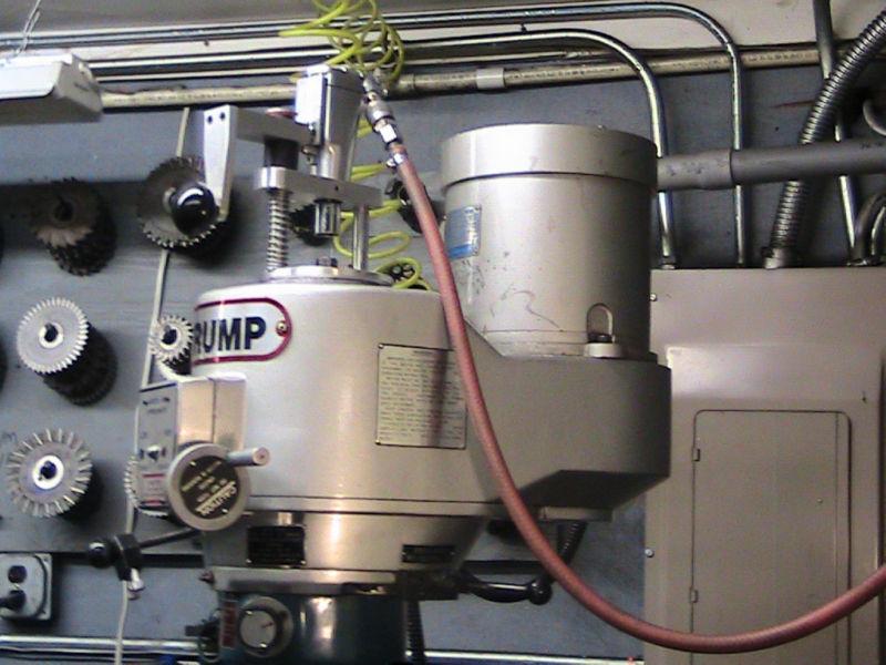 PNUEMATIC IMPACT WRENCH POWER DRAWBAR BRIDGEPORT OR IMPORT MILLING MACHINE