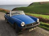 1975 MG MIDGET 1500 - MOT until April 2018 and then MOT exempt from May, tax exempt