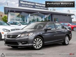 2014 HONDA ACCORD EX-L |ROOF|PHONE|LEATHER|SIDECAMERA|WARRANTY
