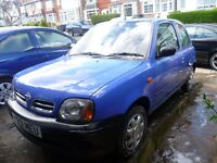 NISSAN MICRA 900cc, 2001 REG, LONG MOT, LOW MILEAGE, TIDY INSIDE & OUT & HPi CLEAR