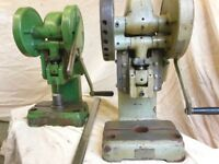 Benchtop Press 2-Tonne capacity. Toggle Press. Arbour Press. PAIR FOR SALE.