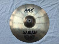 """Sabian AAXplosion crash - 18"""" - 1573g - £140"""
