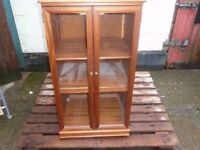 Display Cabinet Tallboy glass doorDelivery available £15