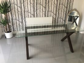 Habitat dining table 6 seater