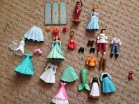 Disney little mermaid and Cinderella fashion set