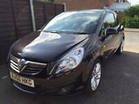 Black Vauxhall Corsa 1.4 Petrol