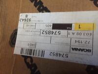 Scania p230 genuine clutch and clutch plate