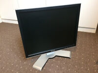 Cheap 17 inch Monitor DELL UltraSharp LCD TFT Screen USB DVI for Office, CCTV A