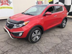 2014 Kia Sportage EX, Automatic, Leather, Panoramic Sunroof, AWD