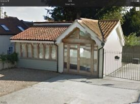STALHAM. Attractive detached shop/unit. IN HIGH ST. Car park on site.