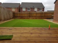 SLABBING , FENCING , DECKING , TURFING , FAKE TURF , FOR ALL YOUR GARDEN NEEDS THIS YEAR TAKE A LOOK