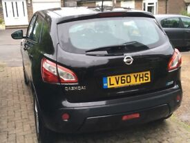 Nissan Qashqai Acenta dci 2010. Low mileage. Well maintained.