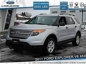 2011 Ford Explorer **V6*4X4*7 PASSAGERS*CRUISE*A/C**