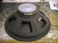 """matched pair of 15"""" Celestion Bass / Pa Speakers 8ohms 150 watts each"""