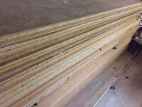 Used Mezzanine 38mm particle floor boards