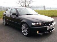 SAPPHIRE BLACK BMW 330D SPORT AUTO/TIP FSH! LOVELY ORDER LIKE 320D A3 A4 PASSAT E46 E36 E30 530D