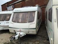 4 BERTH 2004 SWIFT WITH END BATHROOM SIDE DINETTE WE CAN DELIVER PLZ VIEW
