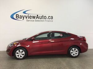 2016 Hyundai ELANTRA L- 1.8L|AUTO|ECO MODE|A/C|PWR GROUP|LOW KM!