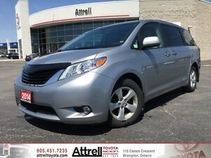 2014 Toyota Sienna FWD LE. Keyless Entry, Power Doors, Backup Ca