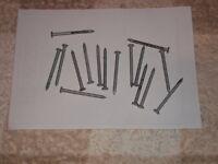 """Galvanized round head wire nails 25 kg box of 2"""""""