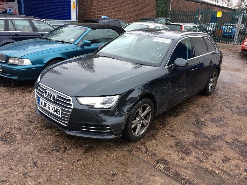 Audi A4 Avant 14 Tfsi 2016 Damaged Salvage Not Bmw Mercedes In
