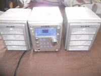 micro stero unit cd radio little used