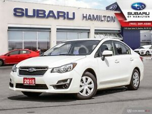 2015 Subaru Impreza 2.0i ONE OWNER | LOW KM | CONVENIENCE PAC...
