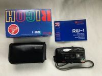 Ricoh RW-1 35mm Point and Shoot Camera Great Condition